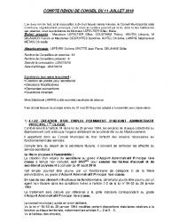 COMPTE RENDU CM 11 JUILLET site