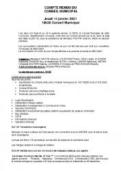 COMPTE RENDU DU CM DU 14-01-21 presse