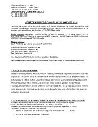 CR conseil du 23 janvier 2019 site