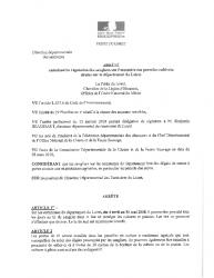 Arreté régulation des sangliers Loiret du 04 avril au 31 mai 2018