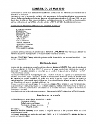 CR-du Conseil du 25-05-2020